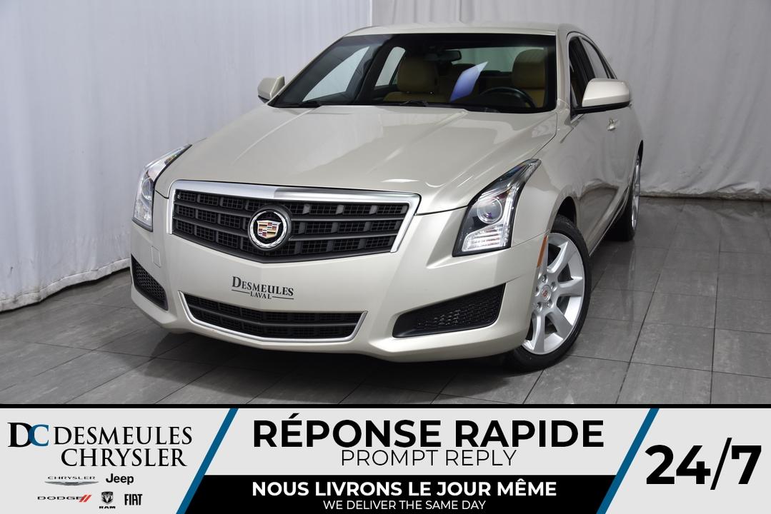 2014 Cadillac ATS  - Desmeules Chrysler