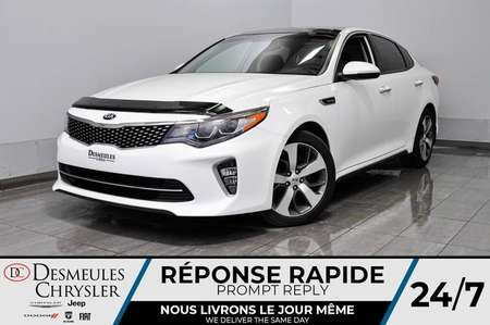 2018 Kia Optima SX + bancs chauff + bluetooth + a/c + cam recul for Sale  - DC-D1779  - Blainville Chrysler