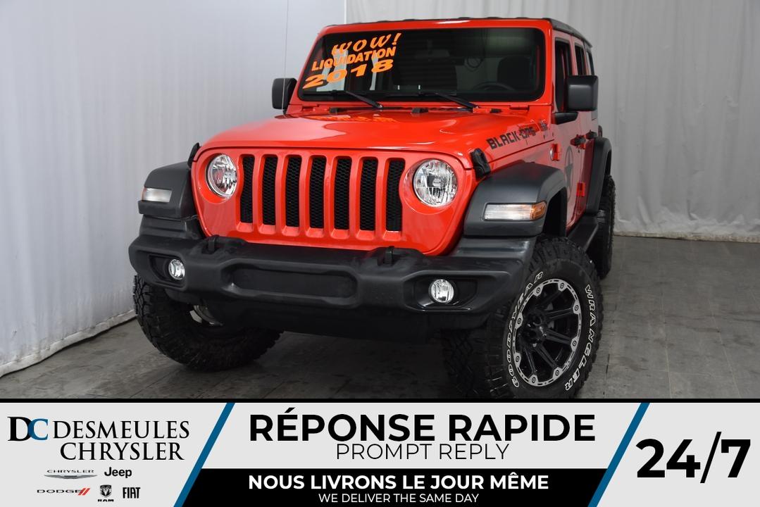 2018 Jeep Wrangler  - Desmeules Chrysler