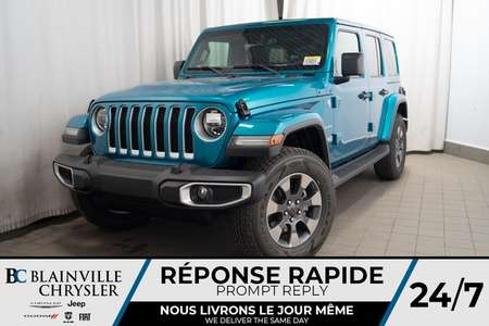 2020 Jeep Wrangler Sahara for Sale  - BC-20084  - Desmeules Chrysler