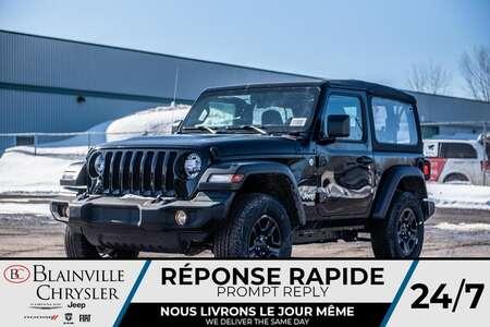2020 Jeep Wrangler Sport for Sale  - BC-20026  - Desmeules Chrysler