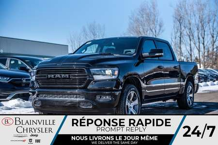 2020 Ram 1500 SPORT * MAGS * 4X4 * BLUETOOTH * CUIR for Sale  - BC-20052  - Blainville Chrysler