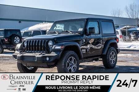 2020 Jeep Wrangler Sport S for Sale  - BC-20056  - Blainville Chrysler