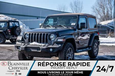 2020 Jeep Wrangler Black and Tan Edition for Sale  - 20099  - Desmeules Chrysler