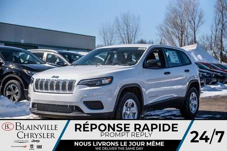 2020 Jeep Cherokee Sport for Sale  - 20104  - Desmeules Chrysler