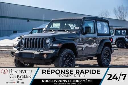 2020 Jeep Wrangler Sport for Sale  - 20107  - Blainville Chrysler
