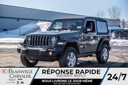 2020 Jeep Wrangler Sport S  - 20117  - Desmeules Chrysler