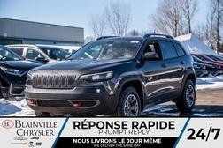 2020 Jeep Cherokee Trailhawk + SEMI CUIR + ÉCRAN 8,4 +  - BC-20136  - Blainville Chrysler