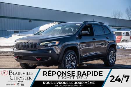 2020 Jeep Cherokee Trailhawk + ENSEMBLE REMORQUE + BANCS CHAUFF + for Sale  - BC-20139  - Desmeules Chrysler