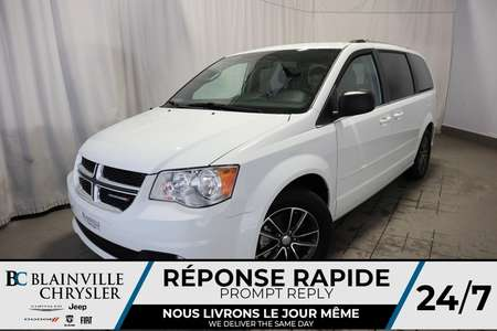 2017 Dodge Grand Caravan DÉMO+SXT PREMIUM PLUS+CLIMATISATION TRI-ZONE for Sale  - BC-70738  - Desmeules Chrysler