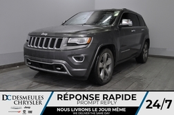 2014 Jeep Grand Cherokee Overland + turbo diesel + bancs chauff + uconnect  - DC-81027B  - Desmeules Chrysler