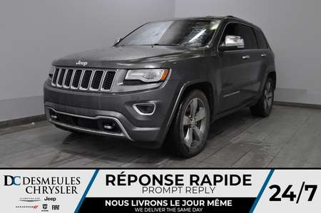 2014 Jeep Grand Cherokee Overland + turbo diesel + bancs chauff + uconnect for Sale  - DC-81027B  - Blainville Chrysler