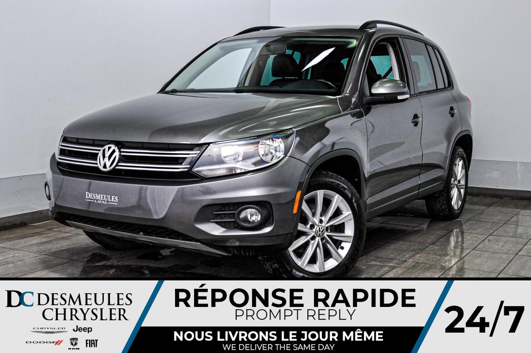 2013 Volkswagen Tiguan  - Desmeules Chrysler
