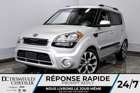 2013 Kia Soul + bancs chauff + a/c + toit ouv + bluetooth for Sale  - DC-D1769  - Desmeules Chrysler