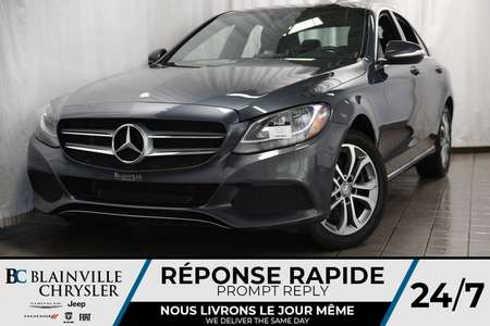 2015 Mercedes-Benz C-Class C300 4MATIC + MAGS + CUIR + TOIT PANO for Sale  - BC-P1245  - Desmeules Chrysler