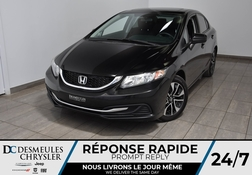 2015 Honda Civic Sedan LX * Toit Ouvr * Cam Rec * Manuelle * 56$/Semaine  - DC-M1460  - Desmeules Chrysler