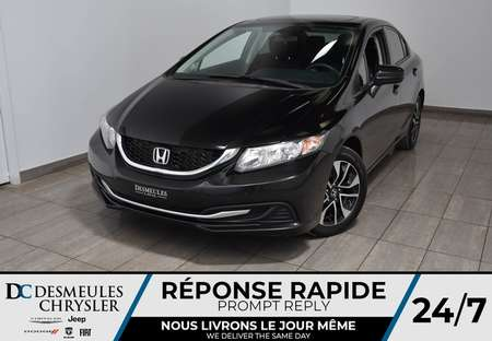2015 Honda Civic Sedan LX * Toit Ouvr * Cam Rec * Manuelle * 56$/Semaine for Sale  - DC-M1460  - Desmeules Chrysler