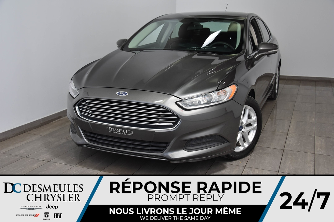 2016 Ford Fusion  - Desmeules Chrysler