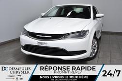 2016 Chrysler 200 LX * Bout. Démarrage * A/C * 55$Semaine  - DC-A1437  - Desmeules Chrysler