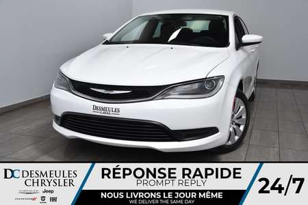 2016 Chrysler 200 LX * Bout. Démarrage * A/C * 55$Semaine for Sale  - DC-A1437  - Blainville Chrysler