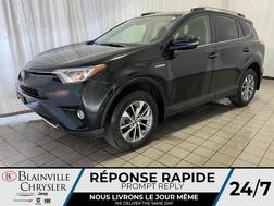 2018 Toyota Rav4 LE * HYBRID * BLUETOOTH * CAMERA RECUL *  - BC-P1659  - Desmeules Chrysler