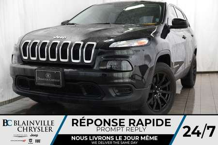 2016 Jeep Cherokee SPORT + MAGS + CAM RECUL + BLUETOOTH + CLIM for Sale  - BC-P1239  - Blainville Chrysler