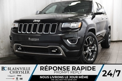 2015 Jeep Grand Cherokee OVERLAND + V6 3.6L + MAGS + CUIR + NAV  - BC-90258A  - Desmeules Chrysler