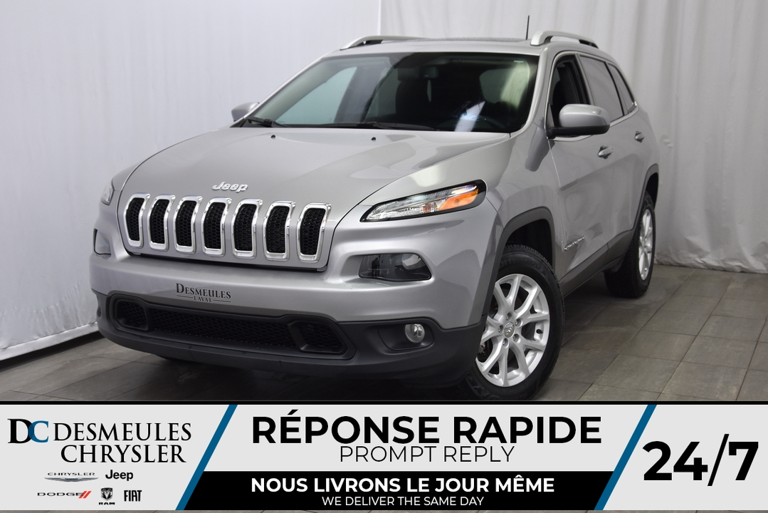 2018 Jeep Cherokee  - Desmeules Chrysler
