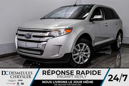 2013 Ford Edge Limited + bancs chauff + cam recul + bluetooth for Sale  - DC-A1542A  - Desmeules Chrysler