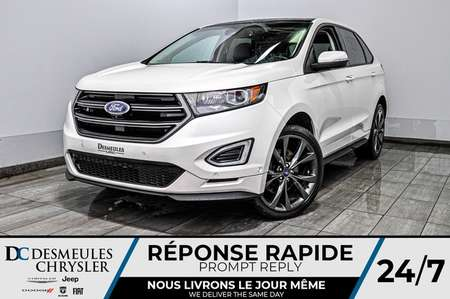 2015 Ford Edge Sport + bancs chauff + toit ouv + bluetooth for Sale  - DC-D1753  - Desmeules Chrysler