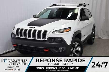 2018 Jeep Cherokee NAV * Sièges & Volant Chauff. * Cam. Recul for Sale  - DC-DE80080  - Desmeules Chrysler