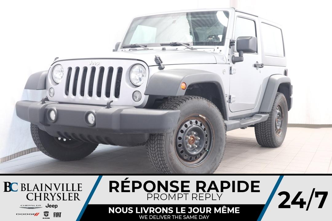 2015 Jeep Wrangler  - Desmeules Chrysler