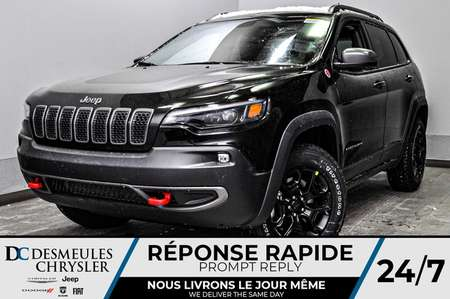 2020 Jeep Cherokee Trailhawk + BANCS CHAUFF + TOIT OUV *126$/SEM for Sale  - DC-20245  - Desmeules Chrysler