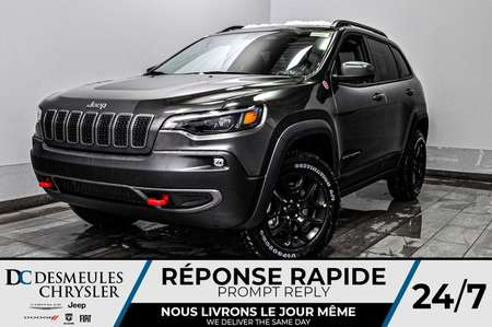 2020 Jeep Cherokee Trailhawk + BANCS CHAUFF + TOIT OUV *126$/SEM for Sale  - DC-20246  - Desmeules Chrysler