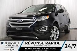 2018 Ford Edge Titanium+AWD+V6+MAGS+CUIR+SIÈGES CHAUFF.+BLUETOOTH  - BC-P1155  - Blainville Chrysler