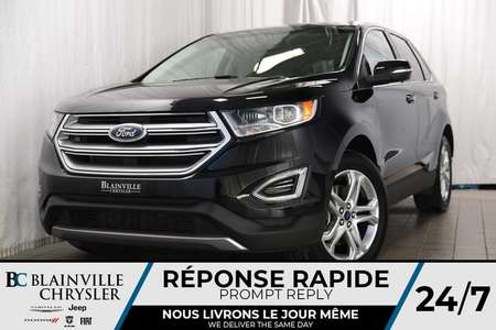 2018 Ford Edge Titanium+AWD+V6+MAGS+CUIR+SIÈGES CHAUFF.+BLUETOOTH for Sale  - BC-P1155  - Desmeules Chrysler