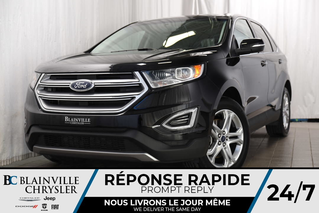 2018 Ford Edge  - Desmeules Chrysler