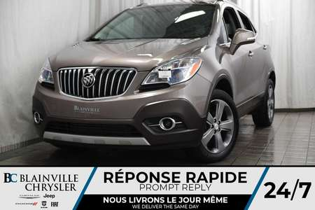 2014 Buick Encore AWD + MAGS + CAM RECUL + BLUETOOTH + SEMI-CUIR for Sale  - BC-P1242B  - Blainville Chrysler