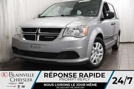 2017 Dodge Grand Caravan BLUETOOTH + A/C + JAMAIS ACCIDENTÉ for Sale  - BC-P1268  - Desmeules Chrysler