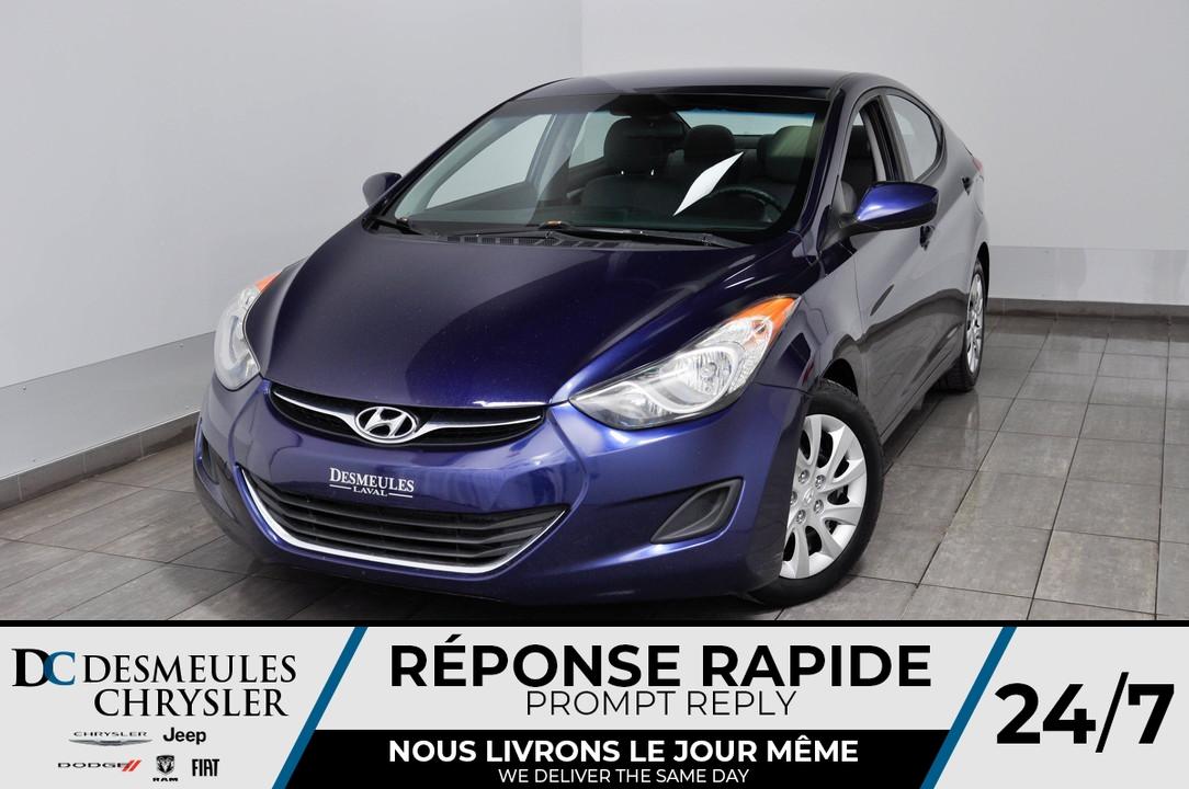 2013 Hyundai Elantra  - Desmeules Chrysler