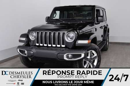 2019 Jeep Wrangler Unlimited Sahara for Sale  - DC-90925  - Blainville Chrysler