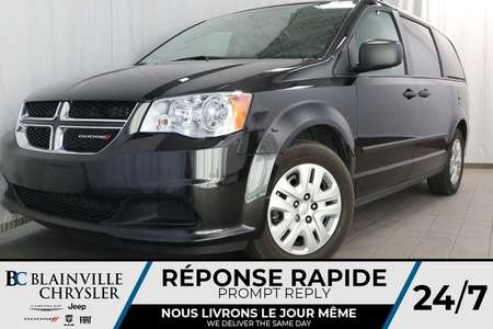 2016 Dodge Grand Caravan SE A/C + CRUISE + LONGERONS DE TOIT + VITRE TEINTÉ for Sale  - BC-90301A  - Desmeules Chrysler
