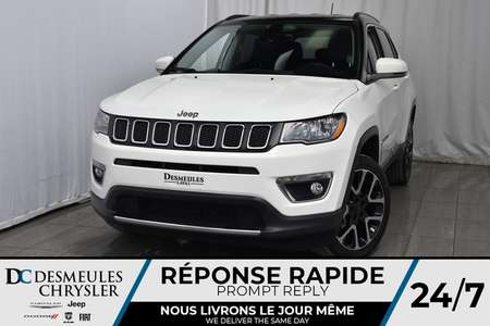 2017 Jeep Compass Limited * Demarreur Dist * Cam Rec * GPS * 4X4 for Sale  - DC-A1106  - Blainville Chrysler