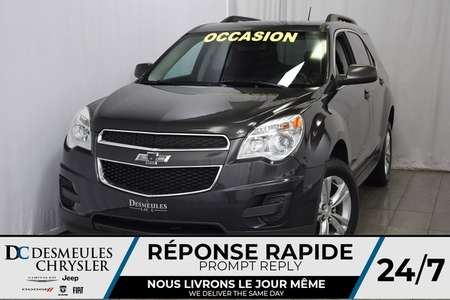 2014 Chevrolet Equinox LT * Com. au Volant * Cam. de Rec. * Mode ECON for Sale  - DC-A0537  - Desmeules Chrysler