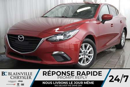 2016 Mazda Mazda3 TOURING + AUTO + MAGS + BLUETOOTH + CAM RECUL for Sale  - BC-P1333  - Desmeules Chrysler