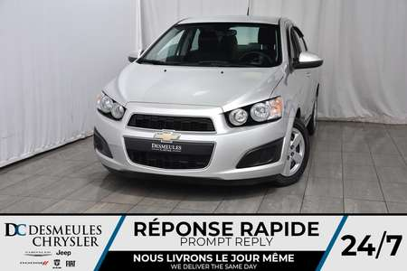 2012 Chevrolet Sonic LT for Sale  - DC-A1078  - Desmeules Chrysler