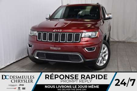 2017 Jeep Grand Cherokee Limited * NAV * Cam. Rec. * Bancs et Volant Chauff for Sale  - DC-A1090  - Blainville Chrysler
