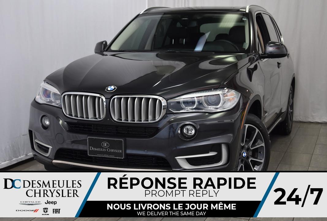 2016 BMW X5  - Desmeules Chrysler
