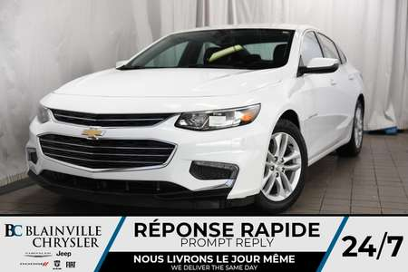 2018 Chevrolet Malibu LT+DÉMARREUR À DISTANCE+MAGS+BLUETOOTH+ for Sale  - BC-P1160  - Desmeules Chrysler