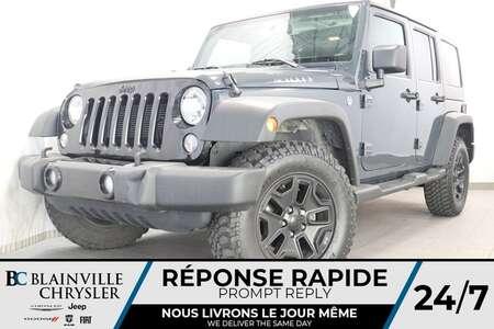 2017 Jeep Wrangler Willys Wheeler + AUTOMATIQUE + TOIT DUR + for Sale  - BC-P1294  - Desmeules Chrysler